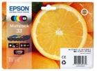 Original Epson Patronen 33 (Orange) T3337 Set Mehrfarbig