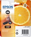 Original Epson Patronen 33 (Orange) T3341 Fotoschwarz