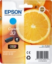 Original Epson Patronen 33 (Orange) T3342 Cyan