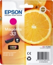 Original EpsonPatronen 33 (Orange) T3343 Magenta