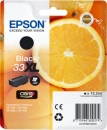 Original Epson Patronen 33 XL (Orange) T3351 Schwarz