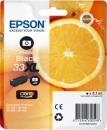 Original Epson  Patronen 33 XL (Orange) T3361 Fotoschwarz