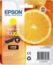 Original Epson 33 XL (Orange) T3364 Gelb / Yellow