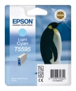 Original Epson Patronen T5595 Foto Cyan