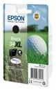 Original Epson Patrone 34 XL C13T34714010 (Golfball) Schwarz