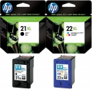 Original HP Patronen 21xl + 22xl Multipack