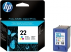 Original HP Patronen 22 C9352AE Color