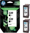 Original HP Patronen 339 Schwarz C9504E Multipack