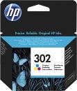 Original HP Patronen 302 F6U65AE Tricolor