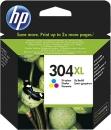 Original HP Patronen 304 XL N9K07AE Mehrfarbig
