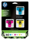 Original HP Patronen 363 Color Multipack