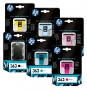 Original HP Patronen 363 Multipack