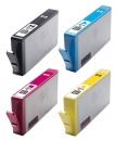 4x Original HP Patronen 364XL J3M83AE Set Bulk