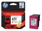 Original HP Patronen 651 C2P11AE Mehrfarbig