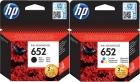 Original HP Patronen 652 F6V24AE F6V25AE Set