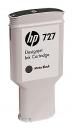 Original HP Druckerpatronen 727 C1Q12A Mattschwarz