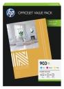 Original HP Valuepack 1CC20AE Patronen 903XL C M Y+ 75 Blatt A4
