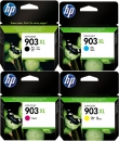 Set 4x Original HP Patronen 903XL 3HZ51AE