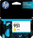 Original HP Druckerpatronen Nr. 951 CN052AE Gelb