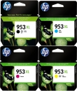 Set 4x Original HP Patronen 953XL 3HZ52AE