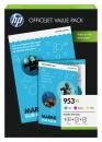 Original HP Valuepack 1CC21AE Patronen 953XL C M Y+ 75 Blatt A4