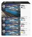 Original HP Set 4x Patrone 991X Mehrfarbig