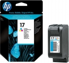 Original HP Patronen 17 C6625AE Color