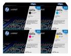 Set Original Toner HP 641A C9720A+C9721A+C9722A+C9723A