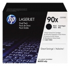 Original HP 90X Toner CE390XD 2x Schwarz