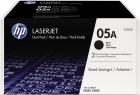 Original HP Toner 05A CE505D Schwarz