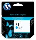 Original HP Druckerpatronen 711 CZ130A Cyan