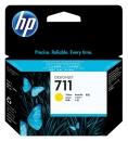 Original HP Druckerpatronen 711 CZ132A Gelb