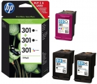 Original HP 301 Druckerpatronen E5Y87EE Value Pack