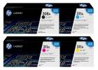 Set Original Toner HP 308A 311A Q2670A+Q2681A+Q2682A+Q2683A