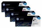 Set Original Toner HP 122A Q3960A+Q3961A+Q3962A+Q3963A
