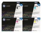Set Original Toner HP 644A Q6460A+Q6461A+Q6462A+Q6463A