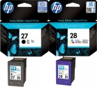 Original HP Patronen 27 + 28 Multipack