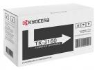 Original Kyocera Toner TK-3160 / 1T02T90NL0 Schwarz