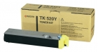Original Kyocera Toner TK-520Y Gelb