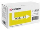 Original Kyocera Toner TK-8315Y 1T02MVANL0 Gelb