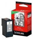 Original Lexmark Patronen 14 18C2090E Schwarz