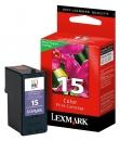 Original Lexmark Patronen 15 18C2110E Color