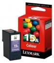 Original Lexmark Patronen 15A 18C2100E Color