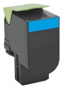 Original Lexmark Toner 800S2 80C0S20 Cyan