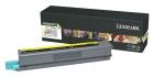 Original Lexmark Toner X925 X925H2YG Gelb