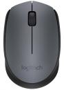 Logitech M170 USB schnurlos Maus Grau