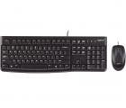 Logitech Wired Desktop Maus & Tastatur MK120