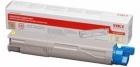 XL Original OKI Toner 43459321 Gelb
