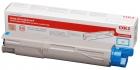 XL Original OKI Toner 43459323 Cyan