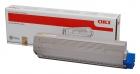 Original Oki Toner 44844505 Gelb